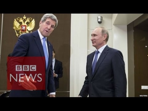 Ukraine crisis: John Kerry meets Putin in Russia - BBC News