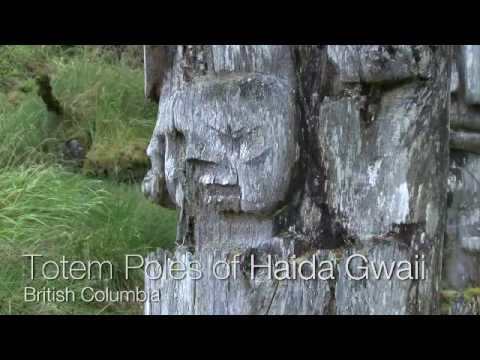 Totem Poles of Haida Gwaii - British Columbia, Canada