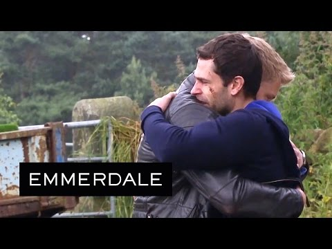 Emmerdale - Robert And Andy Call Each Other Brother Before Saying Goodbye