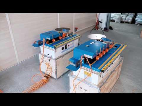 Бюджетный полуавтоматический кромкооблицовочный станок DELTA-MACHINERY DM-107 PRO и DM 110