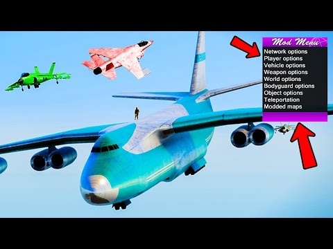 WHAT IT'S LIKE TO BE A MODDER IN GTA ONLINE! (Using Mod Menu's)