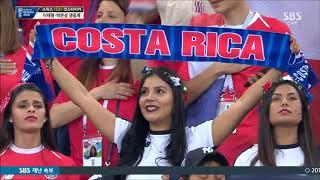 Anthem of Costa Rica vs Switzerland FIFA World Cup 2018