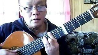 Anh Cho Em Mùa Xuân (Nguyễn Hiền - thơ: Kim Tuấn) - Guitar Cover