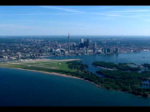 Billy Bishop Toronto City Airport aerial