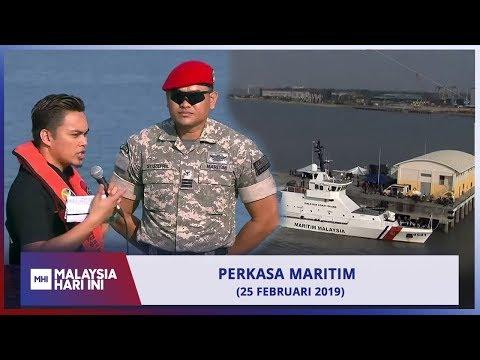 Malaysia Hari Ini (2019) - Peranan Agensi Penguatkuasaan Maritim Malaysia | Mon, Feb 25