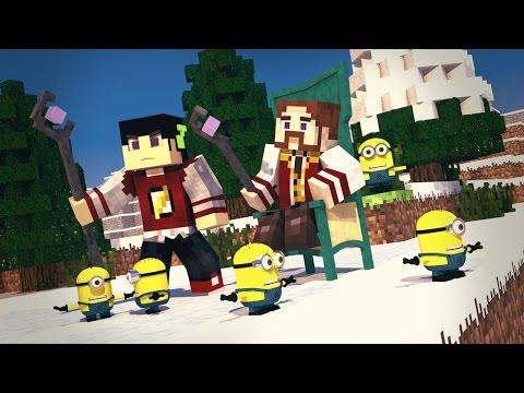 Minecraft: ERA DO FUTURO 2 - OS MINIONS ESCRAVOS ESTÃO AQUI!  ‹ 04 / AMENIC ›