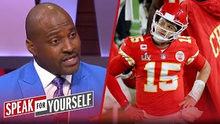 It's time to pump your breaks on the Mahomes hype — Marcellus Wiley | NFL | SPEAK FOR YOURSELF