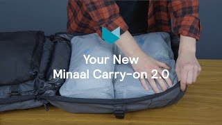Minaal Carry-on 2.0 Travel Backpack | How To Start Packing