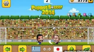 Puppet soccer 2014 | играем за Японию смешной футбол
