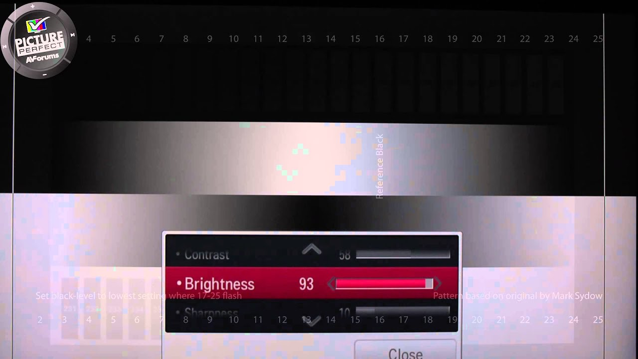 How to set the Brightness control on your TV