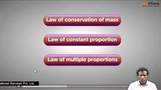 Laws of Chemical Combination-1 | Chemistry | Class 11 | IIT JEE Main + Advanced | NEET | askIITians