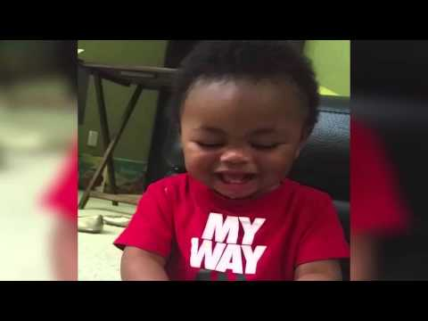 Baby Laughs When Mom Says