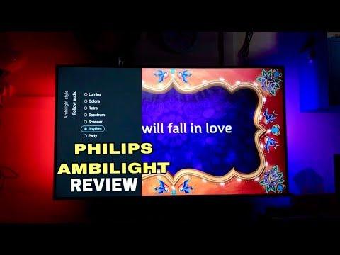Philips Ambilight 4K Ultra Slim Smart LED TV Review (55PUT6233/98 6200 Series TV)
