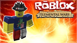 Roblox Adventures - ELEMENTAL WARS! - I AM THE ICE WIZARD! (Roblox)