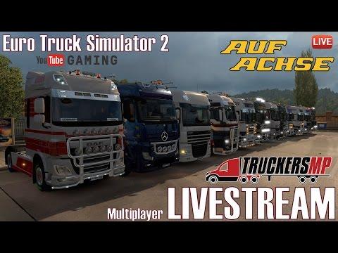 ETS2 I Multiplayer LIVESTREAM ★ Von Süd nach Nord ★ #234  Auf Achse [Deutsch/HD]