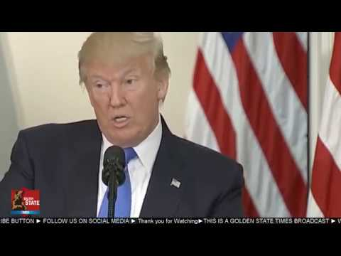 President Donald Trump Speaks at the First Presidential Advisory Commission on Election Integrity