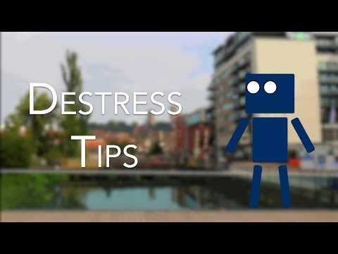 Destress Tips | Student Wellbeing | University of Lincoln