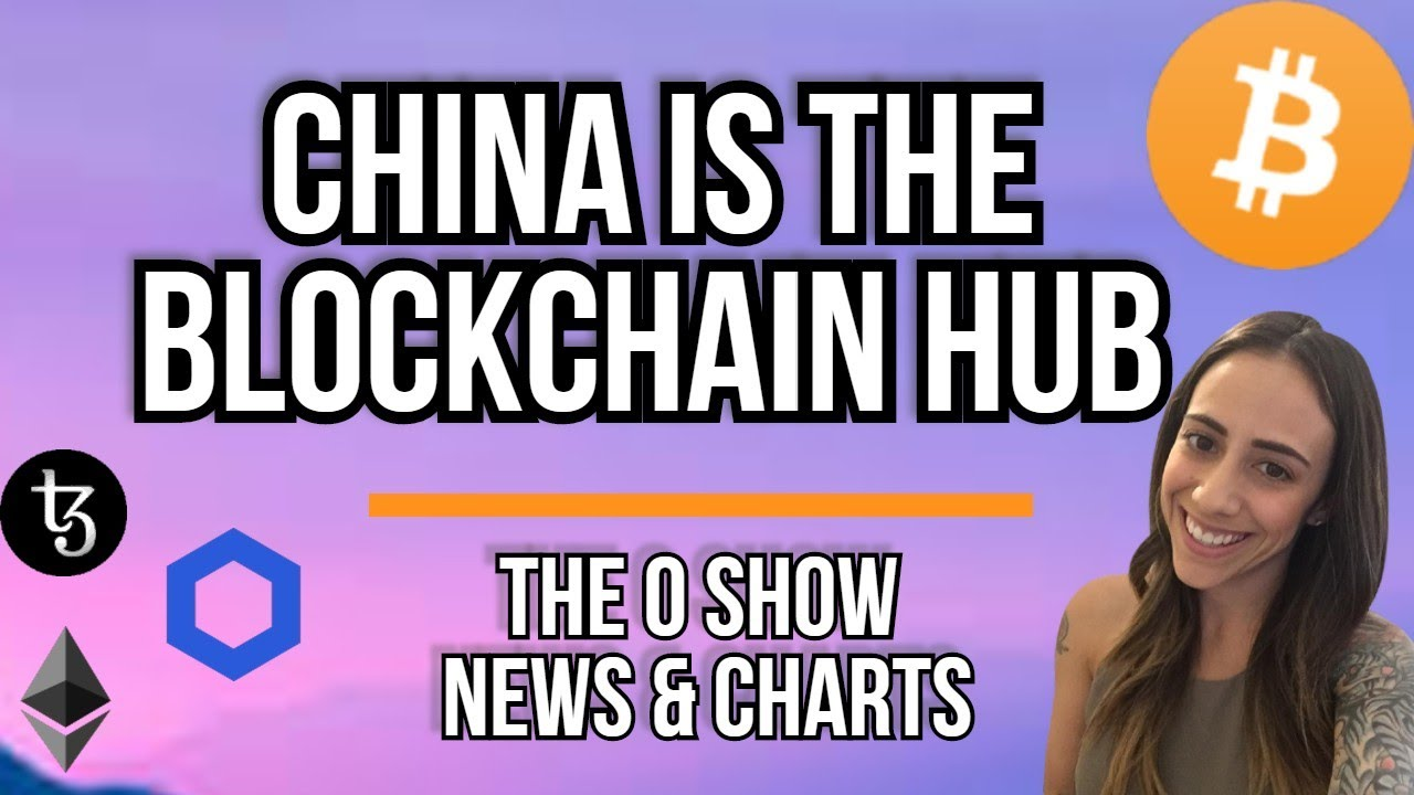 CHINA IS THE BLOCKCHAIN HUB - INDIA ADVANCES IN CRYPTO - LINK TEZOS ETH BTC MATIC (CRYPTO NEWS)