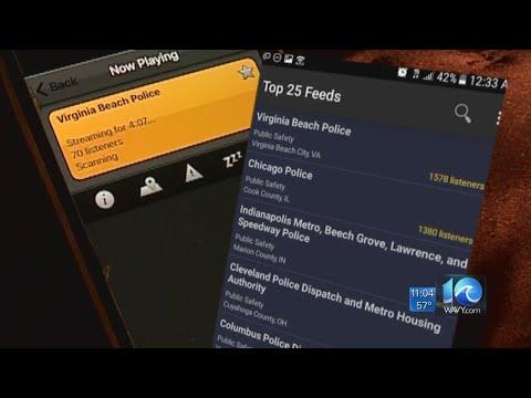 Virginia Beach police scanner app gets thousands of listeners during College Beach Weekend