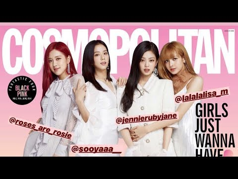 [July 17, 2018] Cosmopolitan Magazine Instagram Shared New Photos of BLACKPINK
