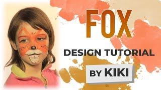 Fox Face Painting Tutorial