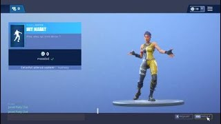 NEW FREE DANSE ON FORTNITE BATTLE ROYALE