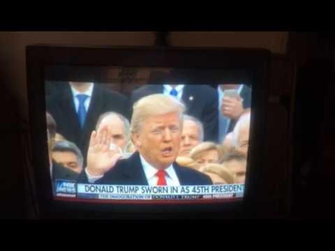 Sen Roy Blunt at Trumps inauguration l