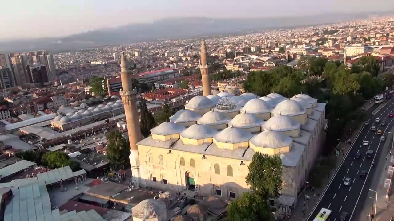 Ulucami  Bursa Panorama - YouTube