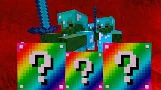 Minecraft: LUCKY BLOCKS RAINBOW   BOB ARMY   Desafío de la Suerte Especial - #53