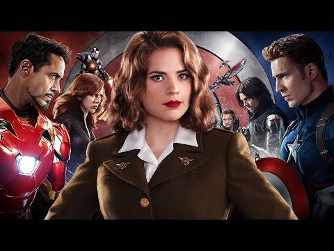 Captain America: Civil War Writers Talk Big Peggy Carter Scene