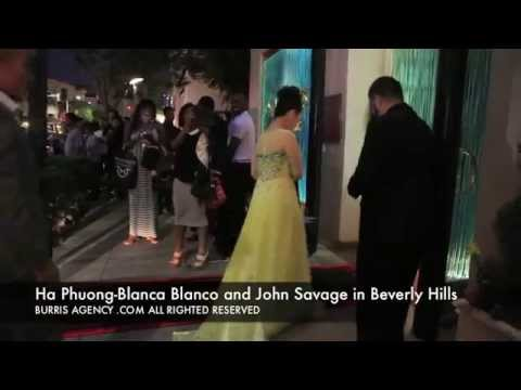 Ha Phuong, Blanca Blanco and John Savage Mastro