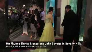 Ha Phuong, Blanca Blanco and John Savage Mastro's Steakhouse - Burris Agency/BurrisImage