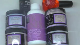 TONES ACRYLIC PRODUCT REVIEW | ABSOLUTE NAILS