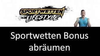 Sportwetten Bonus - hol dir 100 EUR Wettgeld