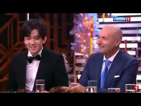 "Dimash at ""Привет Андрей! (Hello Andrey)"" Russia-1 TV program 28.12.2019"