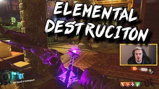 ELEMENTAL DESTRUCTION! (Black Ops 3 Zombies: Der Eisendrache)