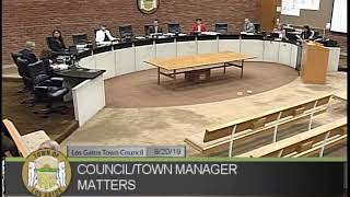 TOWN OF LOS GATOS COUNCIL MEETING / SEPTEMBER 3, 2019