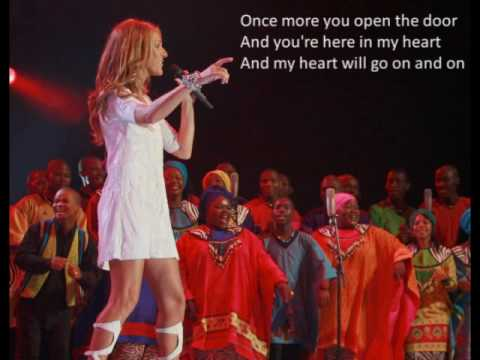 Celine Dion - My Heart Will Go On - Karaoke Version