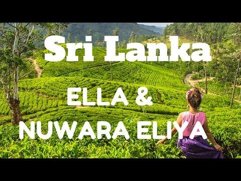 ELLA & NUWARA ELIYA, MAJESTIC WATERFALLS, TEA PLANTATIONS & PANORAMAS, SRI LANKA