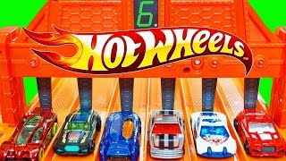 Hot Wheels 6 Lane Speedway Who is the Fastest HotWheels Car? Torque Twister Side Draft