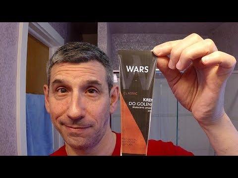 "Wars ""Classic"" shaving cream (krem do golenia) from Poland"