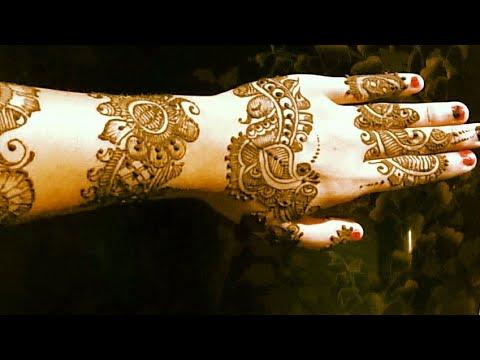 Mehndi Designs Roll : Latest bangles mehndi design chudi roll