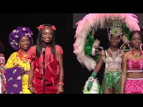 Miss Africa Netherlands 2016 grand finale - Opening National costume