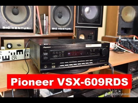 Pioneer VSX-609RDS, AUDIO/VIDEO MULTI-CHANNEL RECEIVER Home Cinema Theatre Pioneer Amplifiers