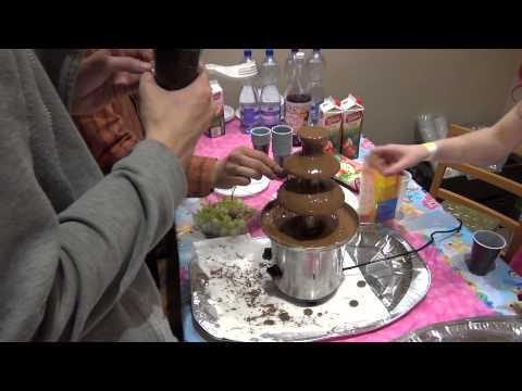 Čokoládová fontána