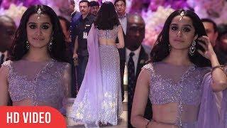 Beautiful Shraddha Kapoor At Ambani GRAND Engagement Party | Viralbollywood
