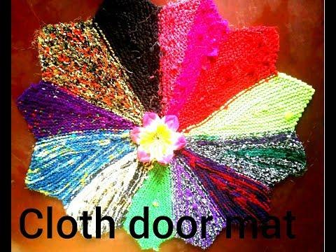 how to make .fari vala door mat .at home beautiful design