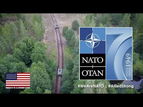 NATO Kuruluşunun 70. Yılını Kutluyor!