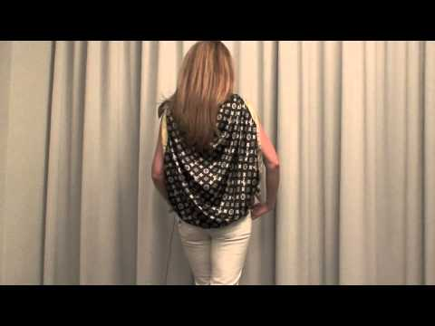 e0cfbcd60cc 25 creative ways to tie your Louis Vuitton   Hermes scarf - YouTube
