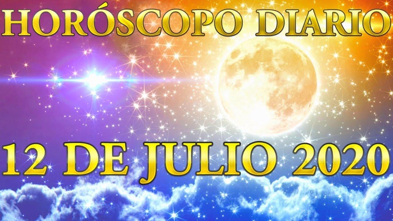 12 DE JULIO 2020 Horóscopo Diario Conoce Tu Suerte y Tu Destino Videncia Real y Total